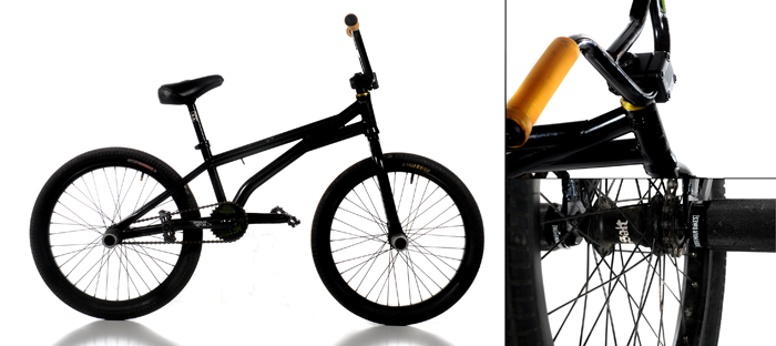 WTP Metric bmx bike